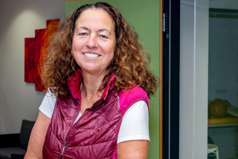 Sportphysiotherapeutin Elke Neubauer