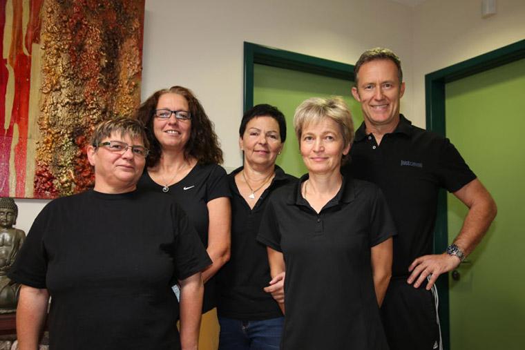 Team der Physiotherapiepraxis Neubauer